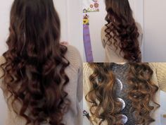 5 Minute No-Heat Curls! I never curl my hair with a curling wand anymore. Just watch this-- it will change your life. I have natural curls but eh ya never know Sock Curls, Curls No Heat, Rag Curls, Headband Curls, Ringlet Curls, Curls Hair, Braid Hair, Curled Hairstyles, Diy Hairstyles