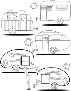 Camping Signs, Camping Theme, Camping Crafts, Camping Outdoors, Camping Hacks, Camping Gear, Colouring Pages, Adult Coloring Pages, Coloring Books