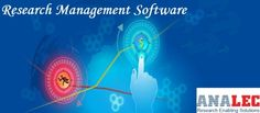 Now you can maintain and store your business data in very easy and interactive way. Analec initialize the technology of Research Management Software to make your life easy. To make a purchase visit their website.
