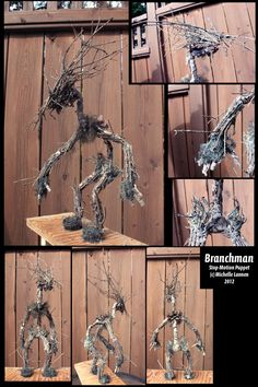 Branchman Stop Motion Puppet by *Fuxu on deviantART