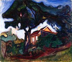 The Apple Tree Edvard Munch - 1902