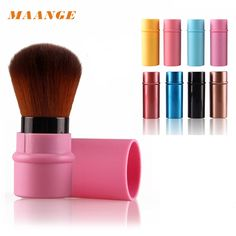 MAANGE 2017 Hot Sale Makeup Brushes Retractable Soft Face Cheek Powder Foundation Blush Brush Makeup Cosmetic Tool wholesale #Affiliate