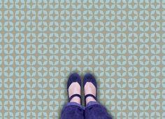 Nu ook per stuk verkrijgbaar: zelfklevende kunststof vloertegel in de print Marrakech (30,5 x 30,5 cm). Price €3,95