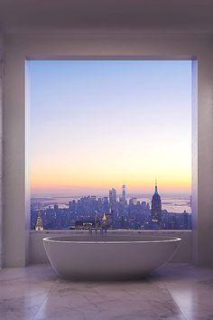 "modernambition: "" $95 Million Penthouse View | WF """