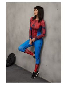 399874f14dd04 Spiderman Leggings #Superhero #supergirls #leggings #Marvel #Comics #fitness  #girl