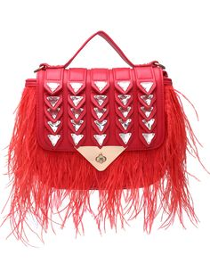 Red Diamond Tassel PU Shoulder Bag 39.00
