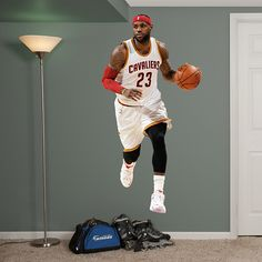 8c66a23aa65 NBA Decorative Wall Art Set Fathead 52 X 4 X 4 Cleveland Cavaliers ...