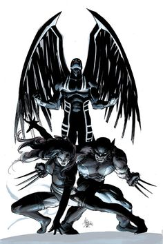 Archangel: Uncanny X-Force #15 Variant Cover by Mike Deodato jr.