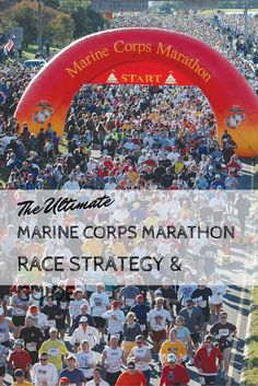 The Ultimate Marine Corps Marathon Race Strategy