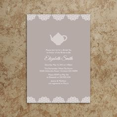 Tea+Party+Invitation++Tea+Party+Invite++Baby+by+DesignsWithStyle,+$20.00