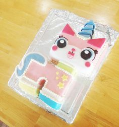 Princess Unikitty Cake from LEGO Movie