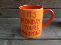 this is usually how I feel on mondays