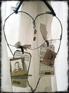 Mr. and Mrs. Pink by ch #art #wire #inspiration #scrapbooking #scrap #homedeco #vintage #sweet #romantic #chbycarolacoch