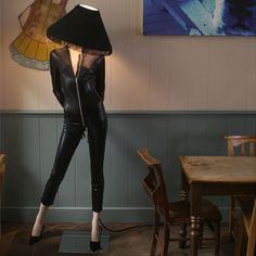 Mannequin Lamp 'Classic Plastic'
