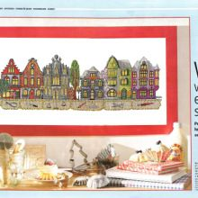 Gallery.ru / Все альбомы пользователя natalytretyak Cross Stitch House, House Doors, Crossstitch, Buildings, Houses, Painting, Dollhouses, Dots, Crosses
