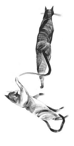 illustration - cats.
