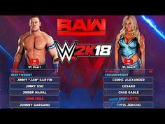 WWE 2K18 OFFICIAL ROSTER! ALL RATINGS, IN-GAME RENDERS & MANAGERS! *MUST WATCH* - YouTube