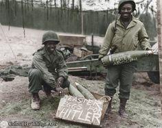 Easter Eggs for Hitler artillery 155mm 1945