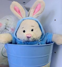 Bunnies for your own little Easter Bunny!  Lots of cute and imaginative Easter Basket gifts at our Houston Store.
