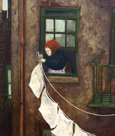 Hangingclothe. -  Steve Poleskie