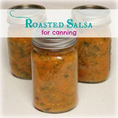 Roasted Salsa for Canning | My Wild Kitchen - Your destination for wild recipes