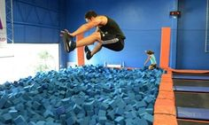Groupon - $ 16 for Two 60-Minute Indoor Trampoline Jump Sessions at Sky Zone ($26 Value) in Colony Crossing. Groupon deal price: $16