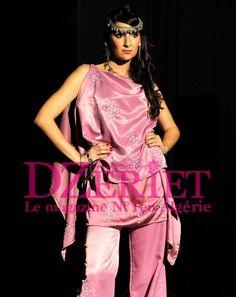 Algerian Fashion: Modern Chaoui Dress