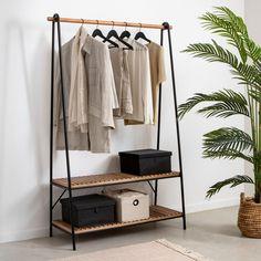 Hall Furniture, Metal Furniture, Shelving Design, Aesthetic Room Decor, New Room, Wardrobe Rack, Living Spaces, New Homes, Interior Design