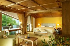Familiensuite im Interalpen-Hotel Tyrol nahe Seefeld in Tirol