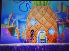 kids video game DS sponge bob life