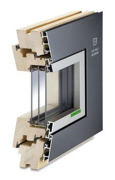 contemporary design - for future-orientated architecture Wooden Windows, Windows And Doors, Attic Bedroom Designs, Aluminium Windows, Passive House, Facade Architecture, Contemporary Design, Modern, Office Supplies