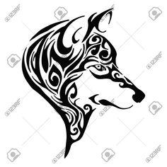 Resultado de imagen para dibujos de lobos