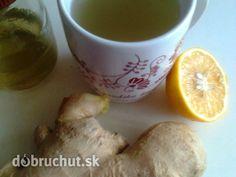Protichrípkový zázvorový čaj