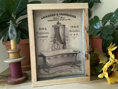 Bathroom Sign/ Farmhouse Decor/ Western Home/ French Country Decor/ Vintage Farmhouse Style Bathroom/ Rustic Barnwood Decor