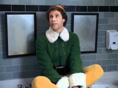 ELF!  Will Ferrell And Zooey Deschanel - Baby Its Cold Outside