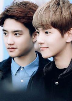  EXO  D.O. and Baekhyun
