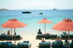 View of Chora on Mykonos, Greece... ❄🌷