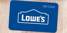 Get free Lowe's Gift Card code and buy anything for free on Lowe's. Itunes Gift Cards, Free Gift Cards, Thank You Gifts, Gifts For Dad, Discount Gift Cards, Birthday Gift Cards, Gift Card Balance, Gift Card Giveaway, Easy Gifts