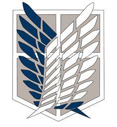 Resultado de imagen para shingeki no kyojin logo reconocimiento
