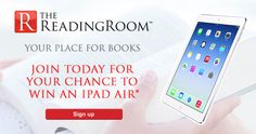 Enter To Win An iPad Air DEFINETLY would like an I PAD!