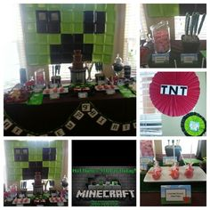 Mindcraft Candy Table