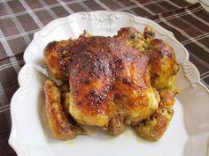 Кулинарен еликсир: печено пиле с кисело мляко,песто и пармезан