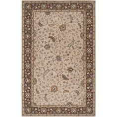 Caesar CAE-1082 White Damask Rug  #decor #rugs #floordecor #decorating #myhomeisbetterthanyours #homeideas #myhome #dreamhome #instahome #classy