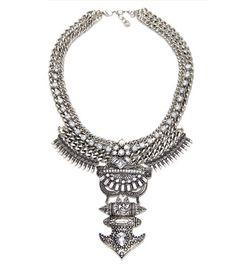 Vintage Maxi Colar Necklace & Pendants