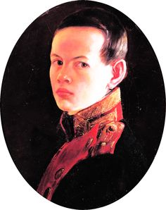 "Tsar Alexander II of Russia as a young nine-year-old boy, painting by George Dawe (1827). The painter became a celebrity throughout Europe and mixed with the Russian intellectual elite. Among others he met and knew were Pushkin who wrote a poem about him entitled ""To Dawe Esq."" In 1826, Alexander's father, Tsar Nicholas"