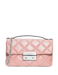 Michael Michael Kors Small Sloan Quilted Leather Messenger