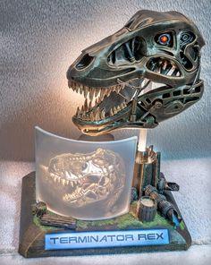 Terminator Rex by Sando Beding