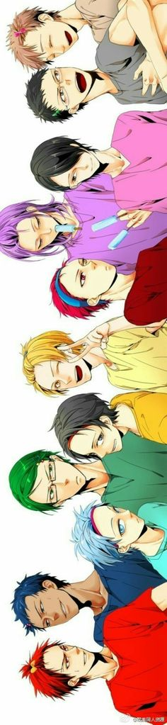 Kuroko no basket Adorable hairstyle - Got Anime, Anime Love, Anime Manga, Anime Guys, Kuroko No Basket, Fanarts Anime, Anime Characters, Haikyuu, Kiseki No Sedai