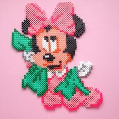 Minnie Mouse hama beads by hamabeads10