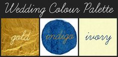 Image result for indigo blue and ivory and gold color palette